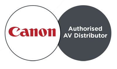 Canon authorised AV partner copy